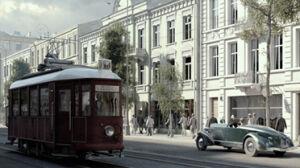 Trójwymiarowa Warszawa z 1935 roku