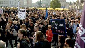 """""""Czarny Protest"""" w całej Polsce"""