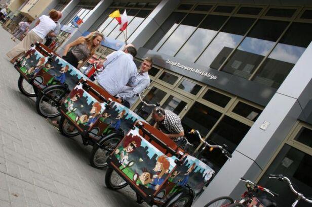 Rusza wypożyczalnia rowerów transportowych ZTM