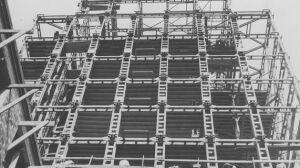 Budowa i wnętrza wieżowca. Archiwalne zdjęcia Prudentialu