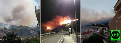 Pożary w Chorwacji - zobacz relacje Reporterów 24