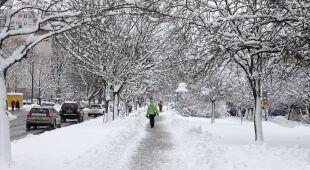 Sytuacja na Podlasiu w związku z opadami śniegu