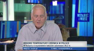 Rekordy ciepła i prognoza na najbliższe dni według Wojciecha Raczyńskiego