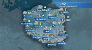 Prognoza pogody na noc 31.10/01.11